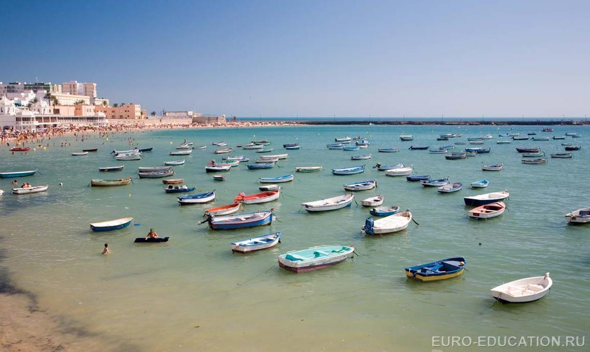 Испания кадис фото пляжа